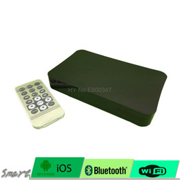 Wholesale Vga Tuner - Mini 1080P HD Media Player box with HDMI AV VGA  USB SD MMC - BlackAuto play function when power on.