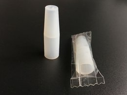 Wholesale Plastic Disposable Tips For Clearomizer - Individually Wrapped Plastic Ecig drip tips mouthpiece cover 510 drip tips caps silicone drip tips for Clearomizer Atomizer Disposable E Cig