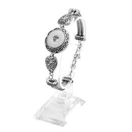 Wholesale Ideas For Bracelets - 10 PCS Snap Bracelet, 18mm Snap Bracelet, Gift Ideas for Her, Birthday Gift Ideas for Friend, Snap Jewelry