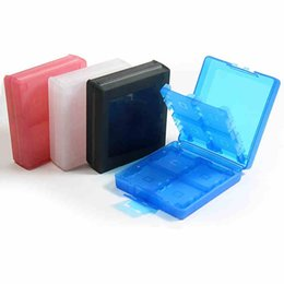 Wholesale Nintendo 3dsxl - 16 in 1 Memerary Card Stick Case Storage Box for Nintendo 3DS 3DSXL 3DSLL 3DS LL Container