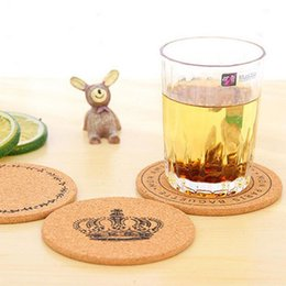 Wholesale Coaster Cork - Classic Round Plain Cork Coasters Drink Wine Mats Cork Mats Drink Wine Mat Ideas For Wedding And Party Gift ZA4844