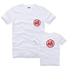 Wholesale Dragon Ball Son Goku - WISHCART Dragon Ball Son Goku Japanese Anime Cartoon Printed Mens T Shirt T-shirt Fashion 2016 Cotton Tshirt Tee Camisetas Masculina
