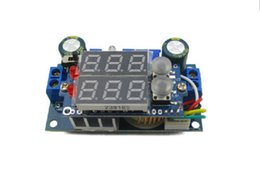 Wholesale Solar Panel Mppt Charge Controller - Wholesale-MPPT Solar Panel Controller 5A DC-DC Step-down CC CV Charging Module LED Display