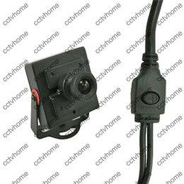 Wholesale Cctv Board Osd - Mini Camera CMOS 1000TVL 6mm Board Lens Home Security OSD CCTV Camera for FPV System