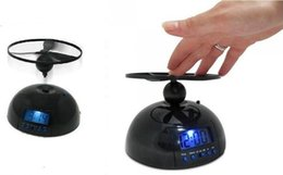 Wholesale Lazy Alarm Clock - Hot Sale Creative Toy With Clock Backlight Alarm Clock Gift Flying Lazy Helicopter