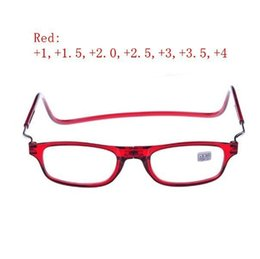 Wholesale man people - Magnetic Reading Glasses With Diopter +1.0 +1.5 +2.0 +2.5 +3.0 +3.5 +4.0 Men Women Spectacles Old People 3 Colors