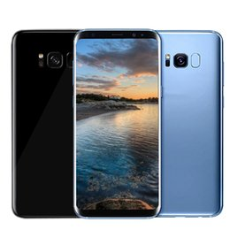 Wholesale Android Phones Dual Core - 5.8inch Goophone S8 plus Unlocked phone MTK6580 Quad Core Android 6.0 1G 4G Show Octa core Show 4G LTE Smartphone