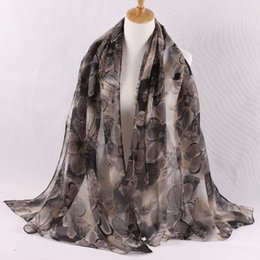 Wholesale Womens Long Scarves Cotton - New arrival long scarf 2016 womens fall fashion High quality Hot sale petal scarf bandana ciclismo cotton scarf infinity scarf