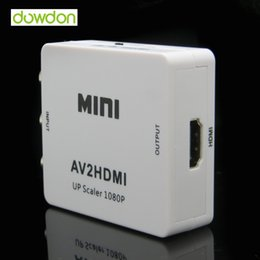 Устройство rca онлайн-3 чипа типа 1080P Full HD RCA к HDMI AV2HDMI AV к HDMI конвертер сигналов для мультимедийных устройств