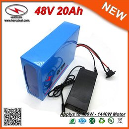 Wholesale E Bike Kit Battery - 48 Volt 1000W Electric Bike Kit With Lithium Battery 48V 20Ah 13S8P 18650 Li-Ion Ebike Pack Deep Cycle For E Bicycle Scooter