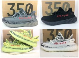 Wholesale Big size us5 us13 v2 Boost Yebra Yellow Zebra Semi Frozen With box receipt keychain mix blue tint Violet Purple Running Shoes
