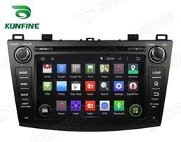 2020 mazda dvd gps bluetooth Quad Core Android 5.1 Auto DVD GPS Navigation Player für Mazda 3 2009-2012 Radio Bluetooth Lenkradsteuerung 8 Zoll Bildschirm 1024 * 600 günstig mazda dvd gps bluetooth