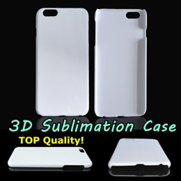 Wholesale Sublimation Cases 3d - DIY 3D Sublimation Case Glossy Matte White Blank Transfer Cover For Iphone 5S 6 6S Plus Samsung S7 Edge Full Area Heat Printable TOP Quality