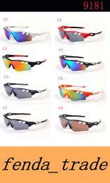 Wholesale protective goggles sports - black brand sunglasses men HOT Classic fashion outdoor 9181 fashion glasses oculos glass goggles UV400 Protective MOQ=10pcs Factory Price