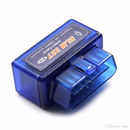 Wholesale Wholesale Launch Auto Scanner - Universal Mini Vehicle Diagnostic Tool OBD OBD2 OBD-II ELM327 ELM 327 V2.1 Bluetooth Car Auto Interface Scanner Torque C DHL Free Shipping