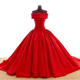Формальный дизайн без бретелек бальное платье атласные плиссированные красное свадебное платье зашнуровать обратно халат де mariage хорошее качество от