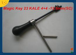 escolha a ferramenta renault Desconto O ENVIO GRATUITO de ALTA QUALIDADE NOVA PRODUTO Magia Chave 23 KALE 4 + 4-12.5mm (SC) mestre chave decodificador ferramentas de serralheiro