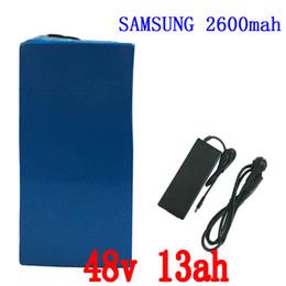 Batterie de bicyclette électrique de la batterie 48v 13Ah de batterie de bicyclette de 750w 48V avec le chargeur de batterie de scooter de BMS 48v du chargeur 20A de 54.6v 2A ? partir de fabricateur