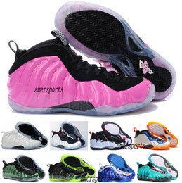 Wholesale Cheapest Low Cut Basketball Shoes - 2016 Hot Cheap Mens Air Penny Hardaway Galaxy One 1 Men Foams Basketball Shoes Olympic Basket Ball Cheap Running Shoes Sneakers Pink 41-47