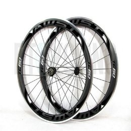 Wholesale Novatec Road Bicycle Hubs - AWST 60mm 700C Clincher Carbon Wheelset Alloy Basalt Braking Surface Road Bike Wheels Road Bicycle carbon wheelset Novatec Powerway hubs