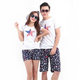 Wholesale Beach Surf Pants Women - Wholesale-Women Men Lovers Couple Dots Short Pants Beach Surf Board Shorts Black H1