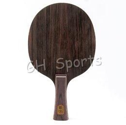 Wholesale Table Tennis Friendship 729 - Wholesale- RITC 729 Friendship ebony-5 (ebony 5) Fast attack with loop wood Table Tennis Blade PingPong Blade