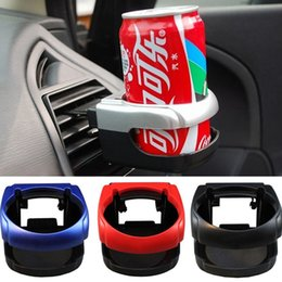 Wholesale Car Water Bottle Holder - Clip-on Auto Car Truck Vehicle Air Condition Vent Outlet Can Drinking Water Bottle Coffee Cup Mount Stand Holder Accessories