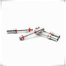 Wholesale Disposable Tubes - 2018 hot selling ceramic coil vape cartridges A1 for disposable vape pen Tank pyrex glass tube