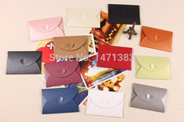 Wholesale Envelope Window - Wholesale- Free Shipping Envelope Mailer party invitation card packaging box Window envelope Pearl paper 300pcs 105mm*72mm