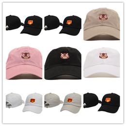 Wholesale Bear Good - Good Fashion New arrival Baseball hats Kanye West bear cap drake Snapback Hat Kendrick Lamar cap Sun hat Cowboy Hat Caps Adjustable