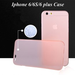 Wholesale Iphone Silicon Case Frosted - High quality frosted Case TPU Clear Silicon Case frosted Case Back Cover For iphone6 iphone 6s iphone6s plus iphone6 plus case