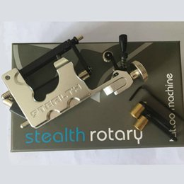 Wholesale Colors Tattoo - Stealth II Rotary Tattoo Machine Gun Liner and Shader 7 Colors Available for Artists and Tattoo Lovers