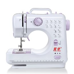 Wholesale Sewing Feet - Hot sale 12 Stitches mini Sewing Machine Portable Knitting Machine Multifunction Electric Replaceable Presser Foot maquina de costura