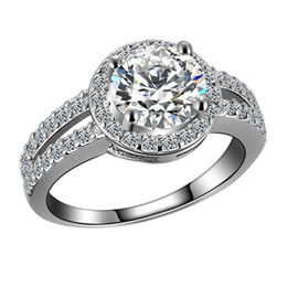 Wholesale Nobles For Sale - Wholesale sales of luxury super flash noble 2 grams diamond stone top quality wedding ring for women