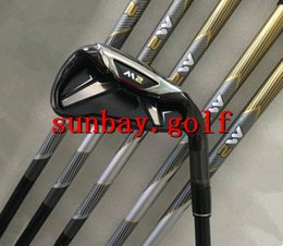 Wholesale wholesale golf irons - New M2 Golf Irons #456789PS With Original Graphite Shaft or Steel Shaft R or S Flex Golf M 2 Irons Set Club