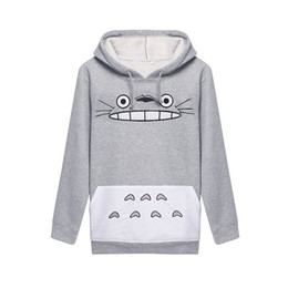Wholesale Totoro Clothes - Best Sellers Woman Totoro Cartoon Printing Long Sleeve Even Midnight Set Hoddies Women Shirts Man Sweatshirt Clothes 3d Tshirt Sport Suit