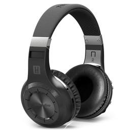 Wholesale Headphone Real - Bluedio HT Wireless Bluetooth 4.1 Stereo HIFI Headphones Built-in Mic Handsfree for Calls Music Headset Real Box Earphones
