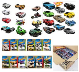 Wholesale Classic Miniature Toys - 72pcs lot metal car model classic antique collectible toy cars for kids gift miniatures scale cars models free shipping