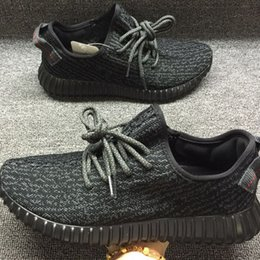 Wholesale beach dive - Light Grey Beach Kanye Boost 350 Shoes, Pirate Black West Kanye Casual Shoes Men Women Shoes BLACK DOVE MOONROCK TAN COLOR
