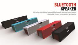 Sardina dell'altoparlante bluetooth del hifi online-Commercio all'ingrosso SDY-019 Originale Nizhi HIFI Bluetooth Speaker con schermo SDY019 Sardine FM Radio wireless USb Amplificatore Stereo Sound Box
