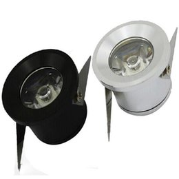 Wholesale Led Downlights Wholesale - 1W 3W LED mini Recessed downlight High power LED indoor lights Round aluminum downlights 6 color for choose Free shipping via DHL