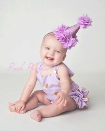 Wholesale Lace Princess Crown - 2016 New Girl Gold Petal Crown Headbands Princess Gold Birthday Party Hair band Girl Hair Accessories TD109