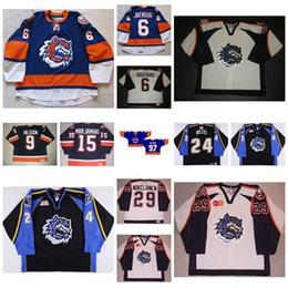 Canada 2017 Nouveaux Hommes Femmes Enfants AHL Bridgeport Sound Tigres 6 Jesse Joensuu 100% Broderie Personnalisé N'importe Quel Nom N'importe Quel N °. Chandails De Hockey Sur Glace cheap embroidery names Offre
