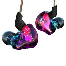 Wholesale Earphones Colour - New Arrived KZ ZST Colour Balanced Armature+Dynamic Hybrid Dual Driver Earphones HIFI Earbuds Bass Headset In-ear Earphones With Microphone