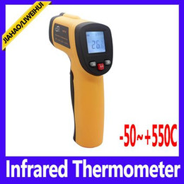 Wholesale Ir Thermal - GM550 Digital IR Infrared Thermometer thermal heat gun -50~550 Degree
