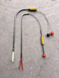 Wholesale Tools For Opening Locked Doors - 2pcs set ZC Peep Hole Open Manipulator Civil Locksmith Tool Cat Eye Lock Pick Tools pick lock for door opener