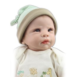 Wholesale Cheap Newborn Stuff - Global Hot Sale 22inch 55CM Cheap Vinyl SIlicone Real baby Reborn Dolls Enthusiasts Super Soft Cotton Stuffed Body Toy Brinquedo