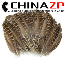Wholesale Wholesale Quill Feathers - CHINAZP Factory Selected Good Qualty Natural Ringneck Hen Pheasant Round Quill Wing Feathers Christmas Decoration Supplier