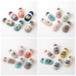 Wholesale Baby Socks For Boys - New Born Baby Socks Cotton Anti Slip Sport Children Socks For Girls Boys Unisex Toddler Kid Socks cat deer cute annimal pringting