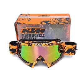 2019 ktm atv Mais recentes KTM Motocross Goggle Motocicleta Dirt Bike Downhill Glasses Motocross Off-Road Eyewear ATV Gafas para KTM Helmet desconto ktm atv